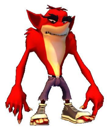Nega Crash Bandicoot Vs Crash Bandicoot