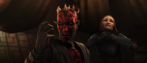 Maul proclaims