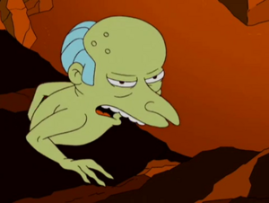 Mr. burns monster