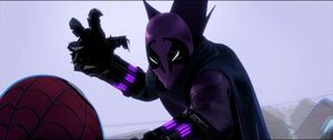 Prowler prepares to kill the new Spider-Man
