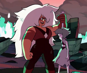 And where do you think you're going, Lapis