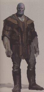 Avengers Infinity War Thanos concept art 19
