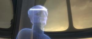 Chancellor Palpatine hologram