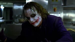 Joker heath ledger 1