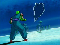 King Piccolo seperated from Kami