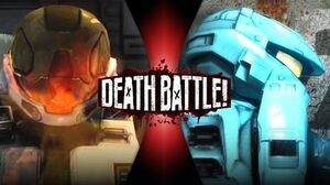 Meta VS Carolina (Red VS Blue) DEATH BATTLE!
