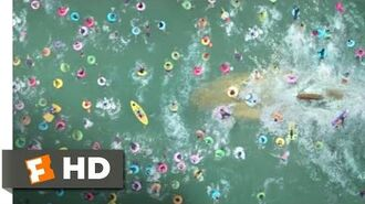 The Meg (2018) - The Beach Attack Scene (8 10) Movieclips
