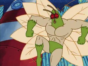 The Moth in Spongebob's House