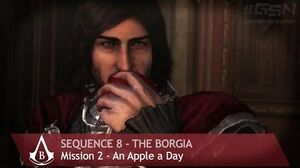 Assassin's Creed Brotherhood - Sequence 8 - Mission 2 - An Apple a Day (100% Sync)