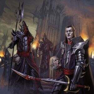 Dark elves black guard by diegogisbertllorens-d5o45tx