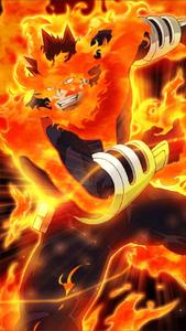 Enji Todoroki Smash Tap Character Art 3