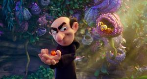 Gargamel holding a ball