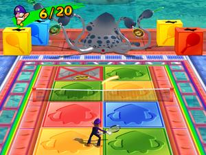 Gooper Blooper Volley - Mario Power Tennis
