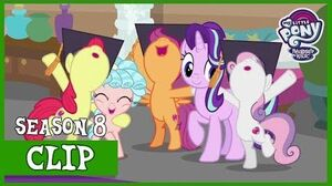 The Crusaders Are Declared Honorary Friendship Graduates (Marks for Effort) MLP FiM HD