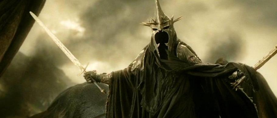 The Witch King with his sword. & Witch-King of Angmar | Villains Wiki | FANDOM powered by Wikia