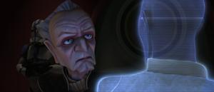 Chancellor Palpatine resolves