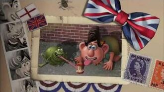 Flushed Away Le Frog and The Toads Story
