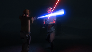 Maul defends