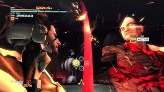 Metal Gear Rising Sam DLC Armstrong Boss Fight HD