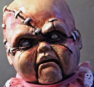 Scarred baby oopsie daisy