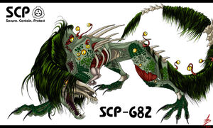 Scp 682 by valeoab-d7whdkl