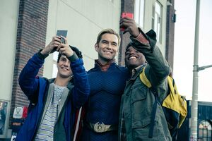 Homelander-Selfie