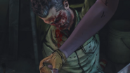 Michonne punches Randall