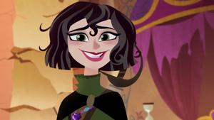 Cassandra smiles