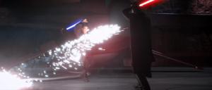 Darth Tyranus spark duel
