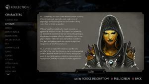 MKX D'vorah Concept Art 1