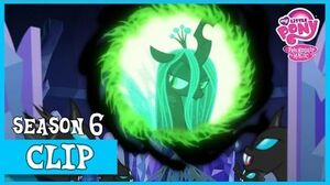 "MLP FiM – Queen Chrysalis's Evil Plan ""To Where and Back Again"" HD"