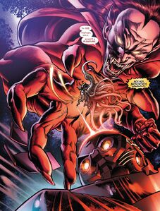 Mephisto (Earth-616) and Nebulon (Earth-616) from Defenders The Best Defense Vol 1 1 001