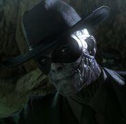 Metal Gear Skull face-profile