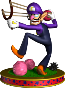 Waluigi Artwork - Mario Party 5