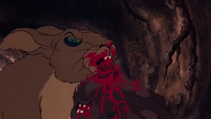 Woundwort kills Blackavar