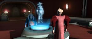 Chancellor Palpatine reciever
