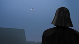 Darth Vader watches