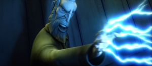 Dooku full-lightning
