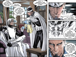 Dr. Light and Deathstroke