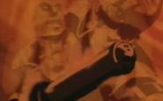 Gokumon on fire