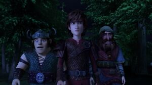 Johann with Hiccup and Snotlout
