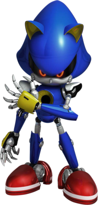 Metal Sonic Sonic Forces