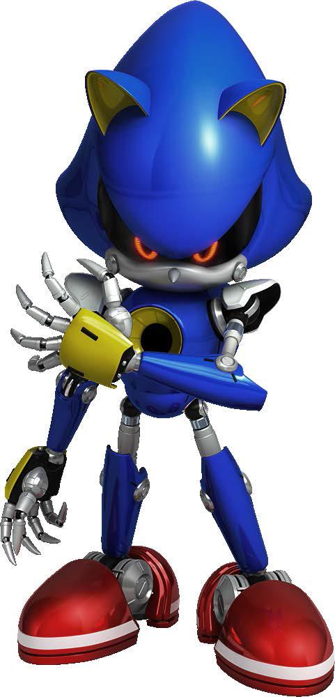 Metal Sonic Artwork - Metal Sonic - Gallery - Sonic SCANF