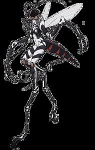 Mosquito Girl Full Body
