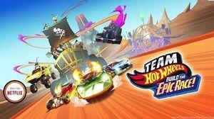 Team Hot Wheels Build the Epic Race