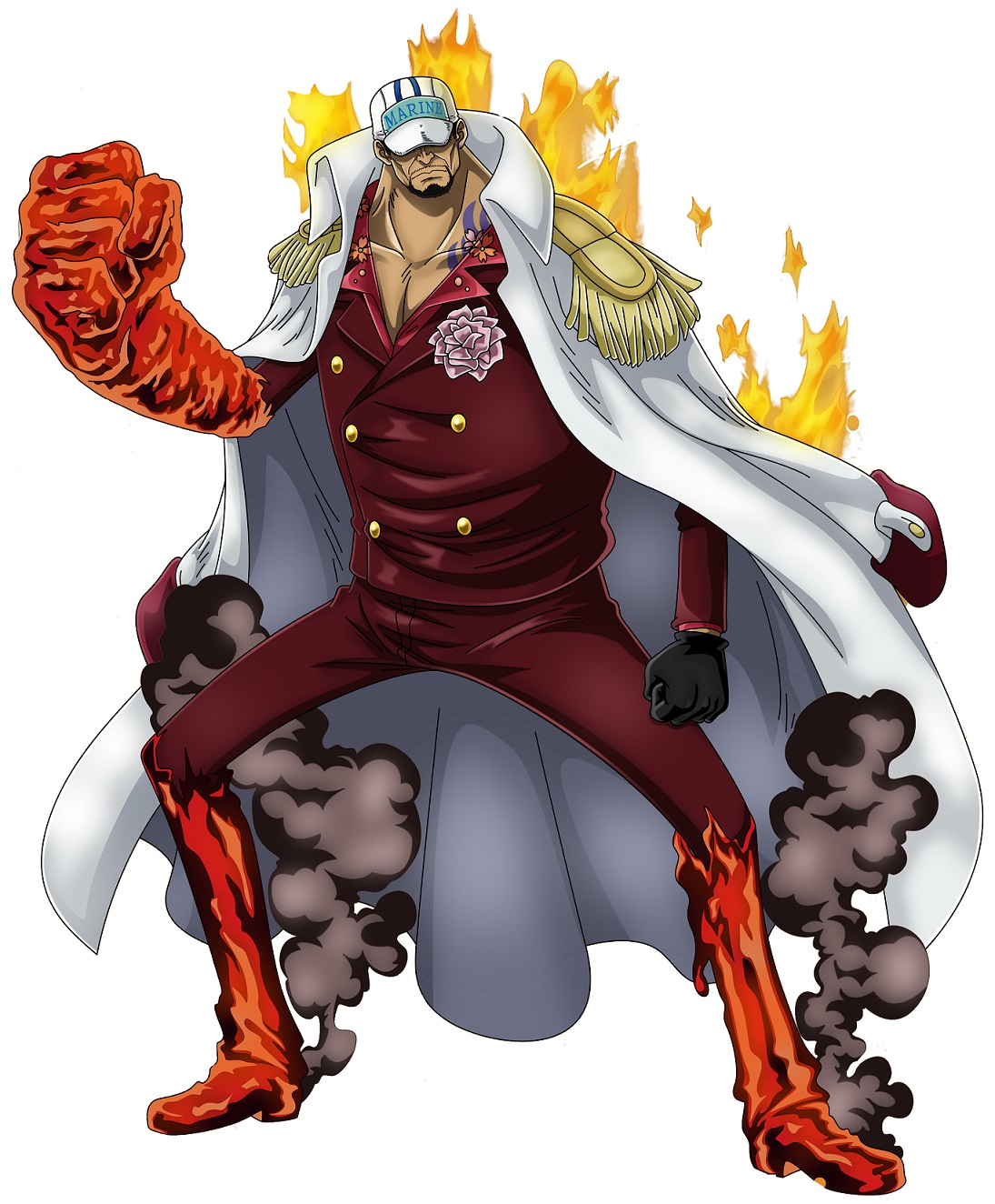 One Piece Sakazuki Timeskip