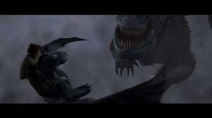 How To Train Your Dragon (2010) - Red Death's Death