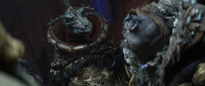 SkekZok giving SkekAyuk a death glare
