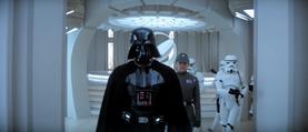 Vader prepared