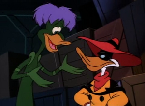 Bushroot and Negaduck
